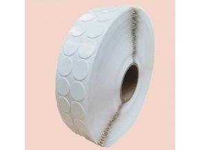 LGA 31025 pěnová oboustranně lepicí fixační kolečka bílá, pr. 25 mm