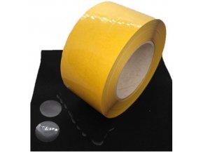LGA 5036 PVC lepicí fixační kolečka transparentní, pr. 80 mm