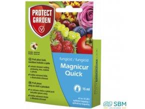 PROTECT HOME MAGNICUR QUICK Fungicidní přípravek k ochraně rostlin proti plísni šedé, moniliové hnilobě a spále, 15 ml