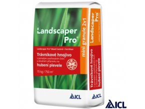 ICL® LANDSCAPER PRO Trávníkové hnojivo s herbicidním účinkem proti dvouděložným plevelům