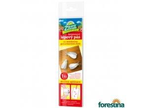 ZDRAVÁ ZAHRADA® Lepový pás pro monitoring potravinových molů, 20 x 5 cm