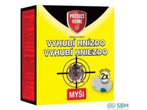 PROTECT HOME RODICUM APLHA rodenticid měkká návnada na hlodavce + 2x stanička 2x 5 g