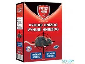 PROTECT HOME RODICUM EXTRA rodenticid měkká návnada na hlodavce, 400 g