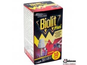 BIOLIT® PLUS Náplň do elektrického odpařovače proti komárům a mouchám 31 ml na 30 nocí