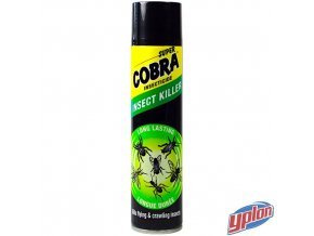 COBRA SUPER® Sprej proti létajícímu a lezoucímu hmyzu, 400 ml