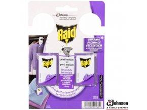 RAID® Háček levandulový proti molům, 2 ks
