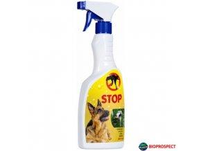 BIOPROSPECT® STOP Pachový odpuzovač psů, 500 ml s rozprašovačem