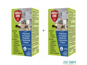 PROTECT HOME PENTA 250 FORTE Insekticid na hubení létajícího i lezoucího hmyzu, 10 ml + 10 ml zdarma