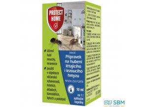 PROTECT HOME PENTA 250 FORTE Insekticid na hubení létajícího i lezoucího hmyzu, 10 ml
