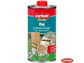 CARLSON® GARDEN Olej na dřevěný nábytek, 500 ml