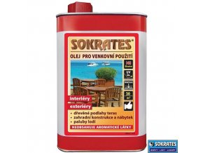 SOKRATES Olej pro venkovní použití