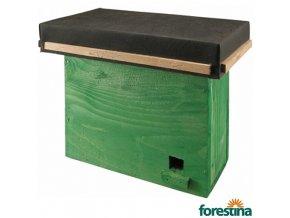 FORESTINA® Budka ČMELÁKOVNÍK zelená, 24 x 26,5 x 15,5 cm