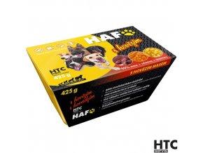 HAF Vanička s hovězím 90%, kompletní krmivo pro psy, 425 g