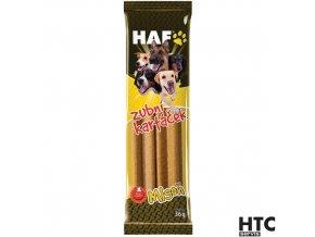 HAF MLSOŇ Zubní kartáček pro psy, 2 ks, 36 g