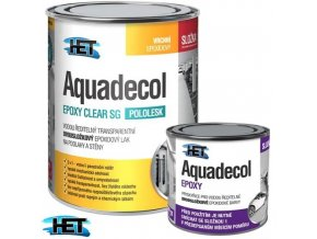 HET AQUADECOL epoxy clear sg