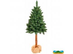 NOHEL GARDEN® 91495 JEDLE na kmeni Stromek vánoční umělý + stojan, 180 cm