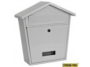 STREND PRO® MODERN Poštovní schránka, bílá, 36,5 x 36,5 x 13,3 cm