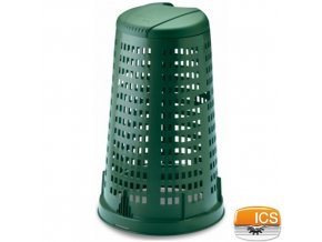 ICS® Koš / popelnice na zahradní odpad, zelená, 58 x 90 cm, 100 l