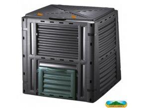 NOHEL GARDEN® Kompostér plastový GARDEN černý, 510 l