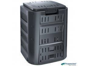 PROSPERPLAST® COMPOGREEN Kompostér plastový černý, 220 l