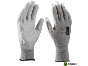rukavice Buck šedé ardon