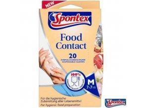 spontex rukavice food contact