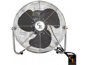 Ventilátor CE podlahový kovový