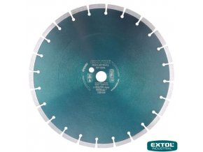EXTOL® INDUSTRIAL Diamantový kotouč řezný na beton, segmentový, 350 x 25,4 x 3,2 mm