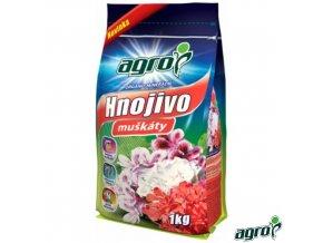 AGRO® Hnojivo organo-minerální na muškáty, 1 kg