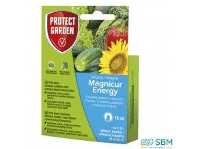 PROTECT HOME® MAGNICUR ENERGY Fungicidní přípravek k hubení půdních a listových chorob, 15 ml