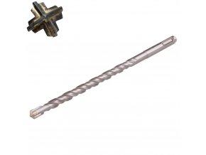FESTA® Vrták do betonu SDS+, 4 břity SK, 10 x 210 mm