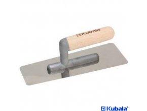 KUBALA® Hladítko benátské trapézové, 240 x 95 x 75 mm, nerez, dřevěná rukojeť