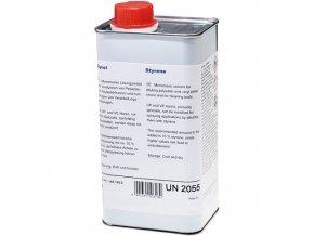 Styren pro ředění polyesterových pryskyřic a gelcoatů