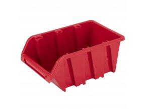 PROSPERPLAST® TRUCK NP6 Box úložný stohovací, oranžový, 155 x 100 x 70 mm