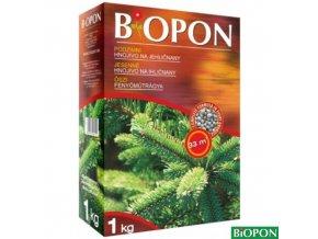 BIOPON® Hnojivo podzimní na jehličnany, 1 kg + elixír zdarma