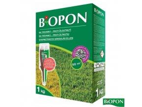BIOPON® Hnojivo na trávník proti žloutnutí, 1 kg + elixír zdarma