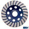 MAGG® Diamantový kotouč brusný, 125 x 22,2 / 6 x 20 mm