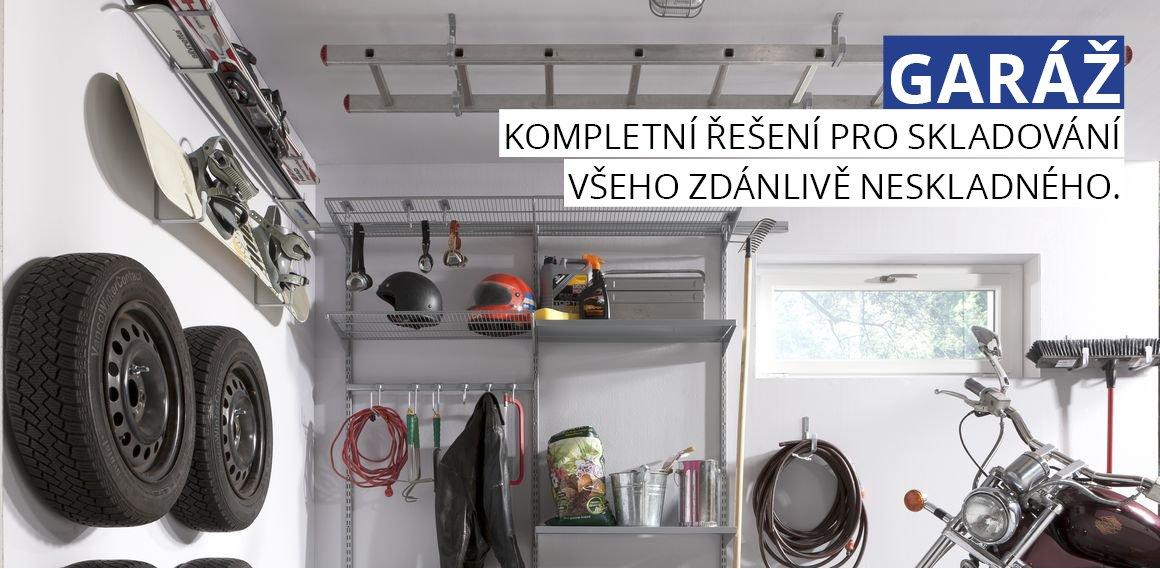 Nástěnný regál ELEMENT SYSTEM do garáže