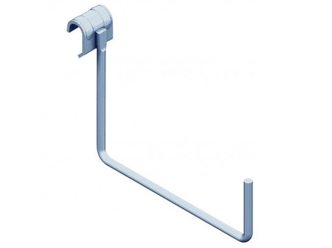 Hák na nosnou tyč - velký, 190x140mm