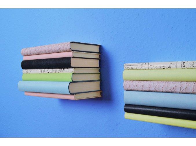 Neviditelná police na knihy (2 ks) ALADIN