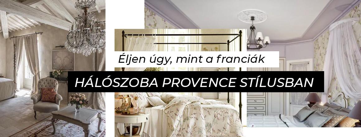Hálószoba Provence stílusban