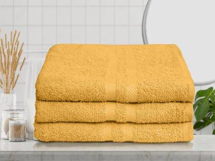 Basic sárga fürdőlepedő