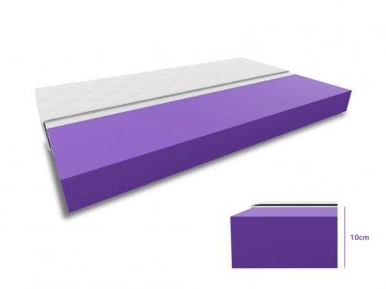 Hab matrac 1+1 DELUXE 2 db 80x200 cm