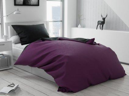 15011 bavlnene povleceni duo fialove