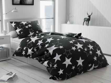 14354 krepove povleceni stella cerna
