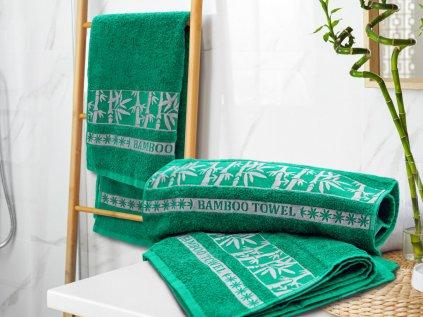 rucnik bamboo zelena