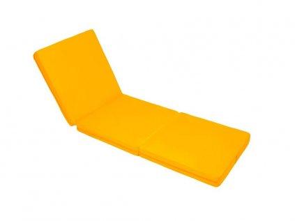 Összecsukható matrac sárga