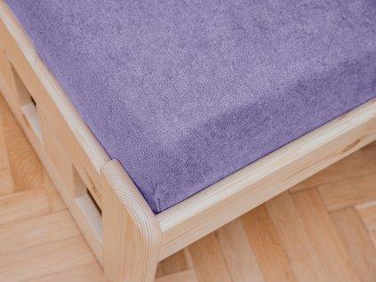 Jersey frote svetle fialova
