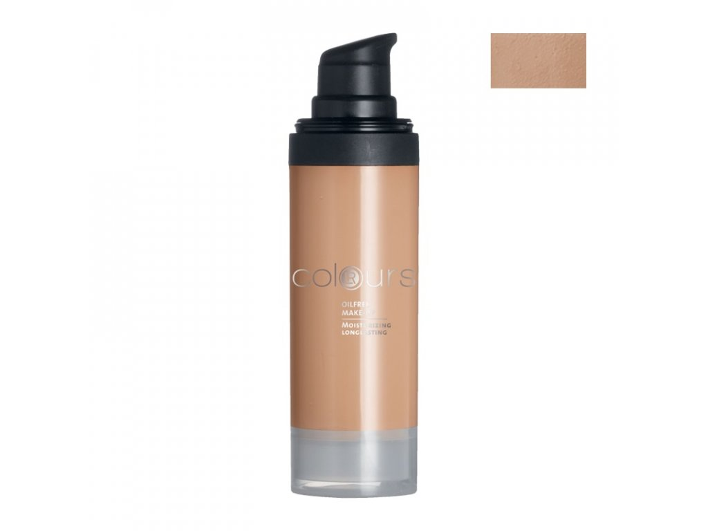 5681 lr colours bezolejovy make up odtien light caramel 30 ml