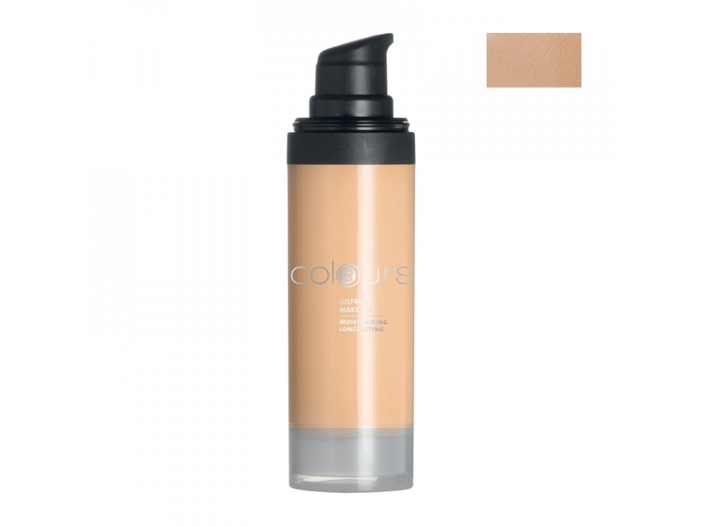 4307 lr colours bezolejovy make up odtien light sand 30 ml
